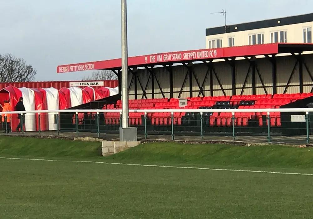 The Havill Stadium, Sheppey United. Photo: Tony Hardy.