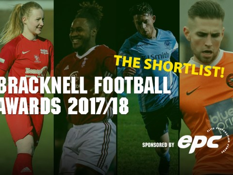 Here's the shortlist for the 2018 EPC Bracknell Football Awards