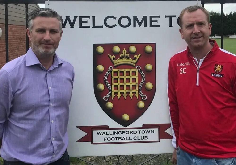 Glenn Goudie Wallingford Town AFC. Photo: WTFC.