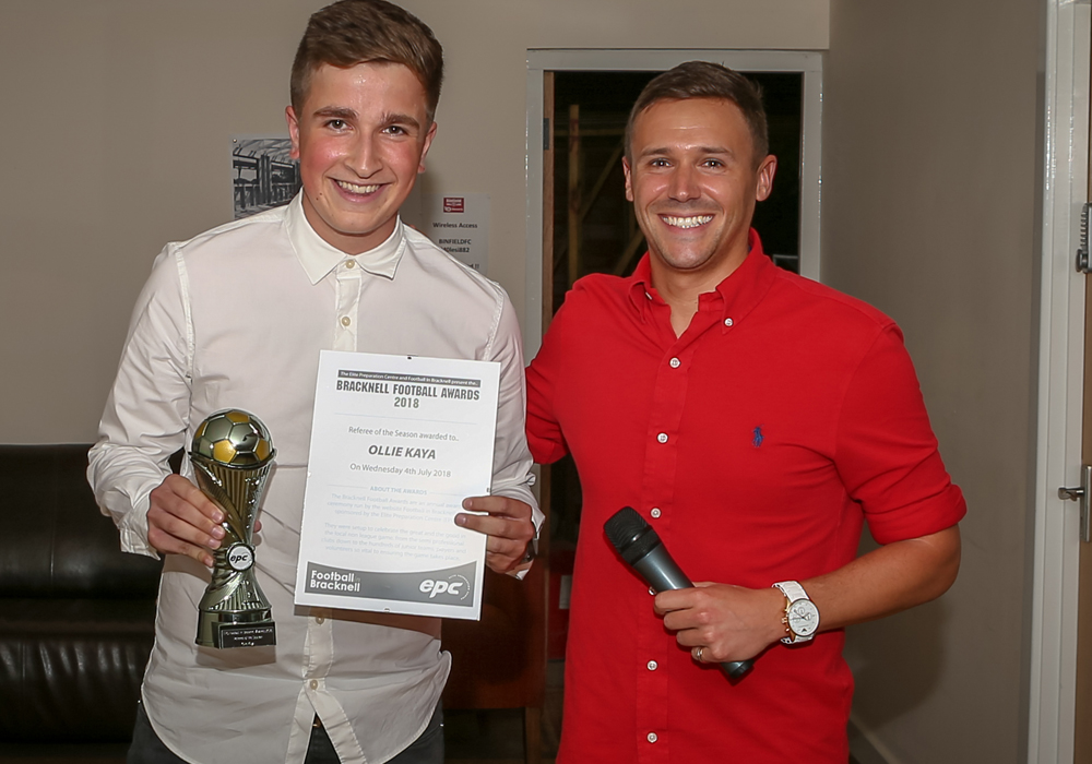 The Bracknell Football Awards are back for 2019