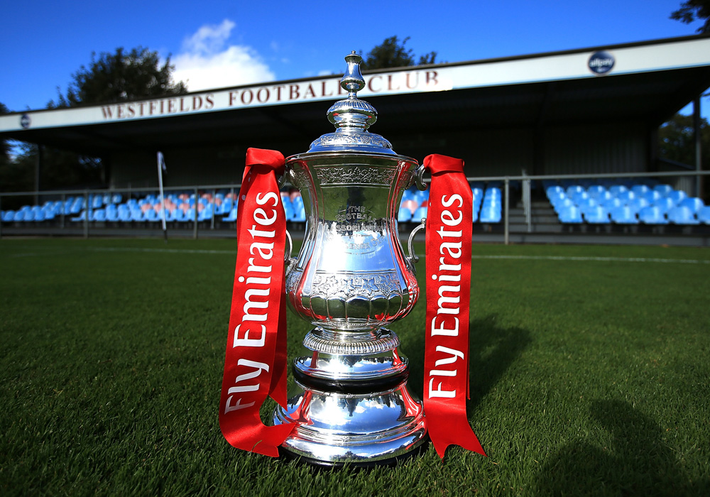 The 2018/19 FA Cup First Qualifying Round draw in Berkshire