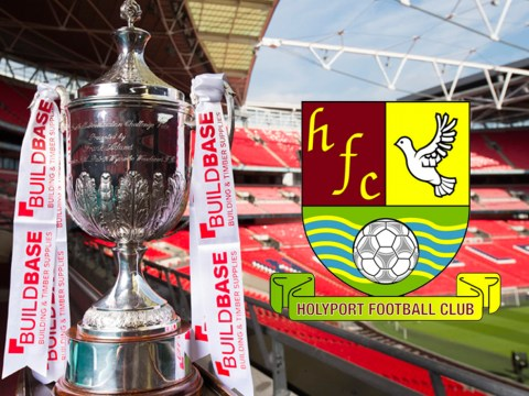 Holyport need support for 400 mile FA Vase away day