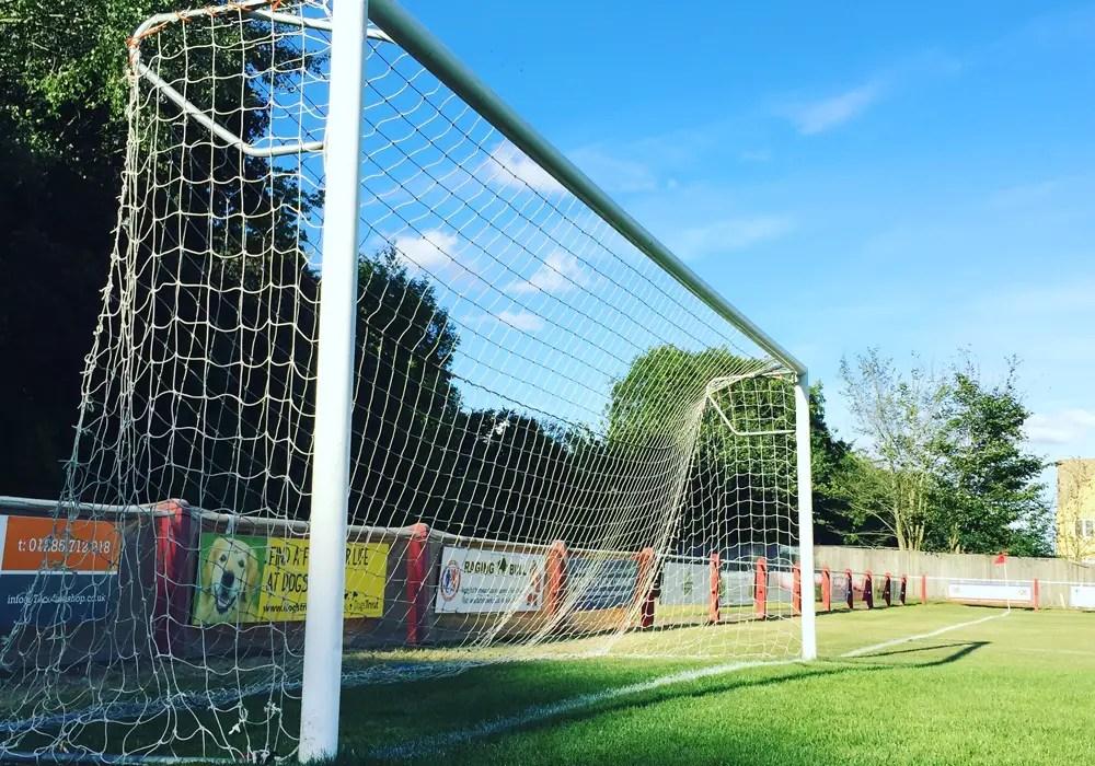 Fairford Town's Cinder Lane ground.