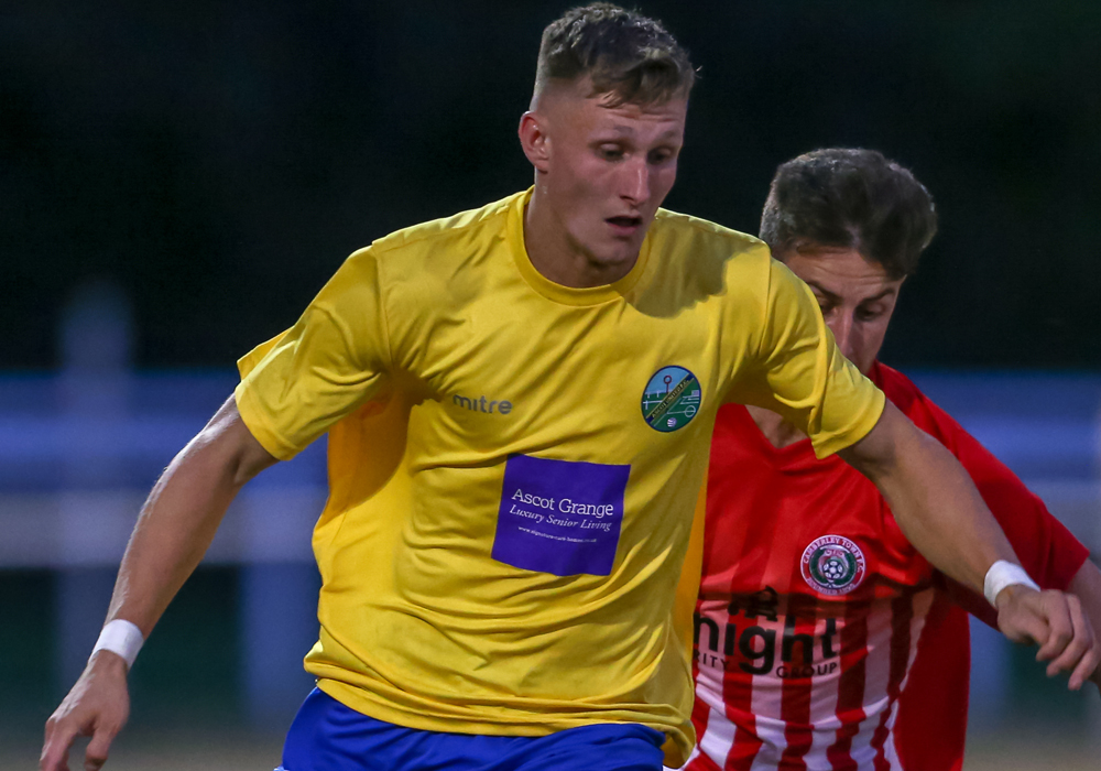 "Kai Walters joins ""Locksicon revolution"" at Bracknell Town"