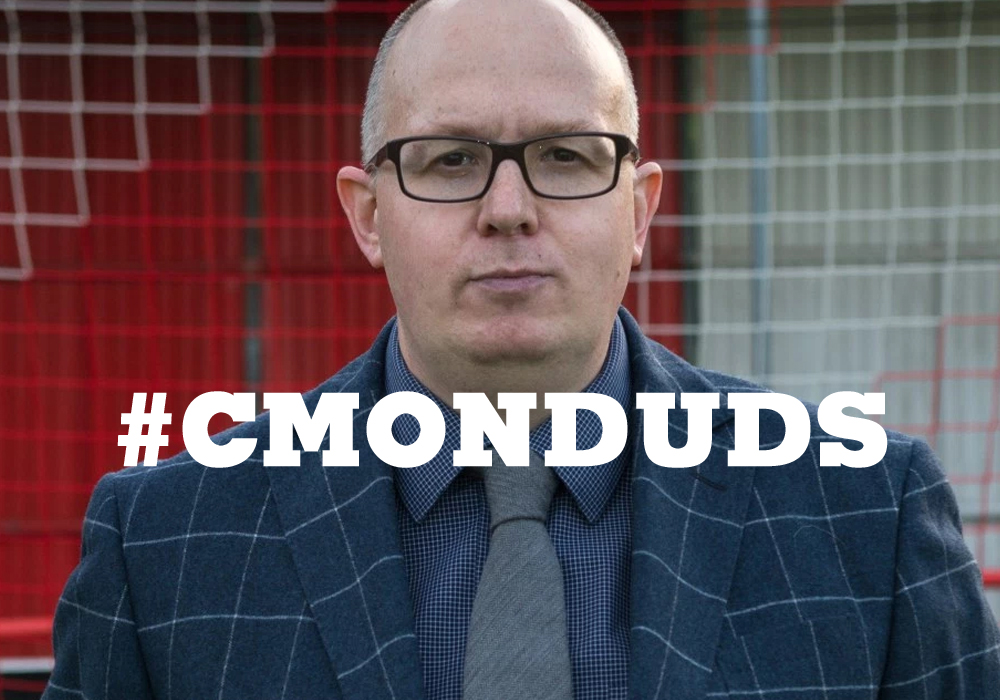 Join the #CMONDUDS campaign