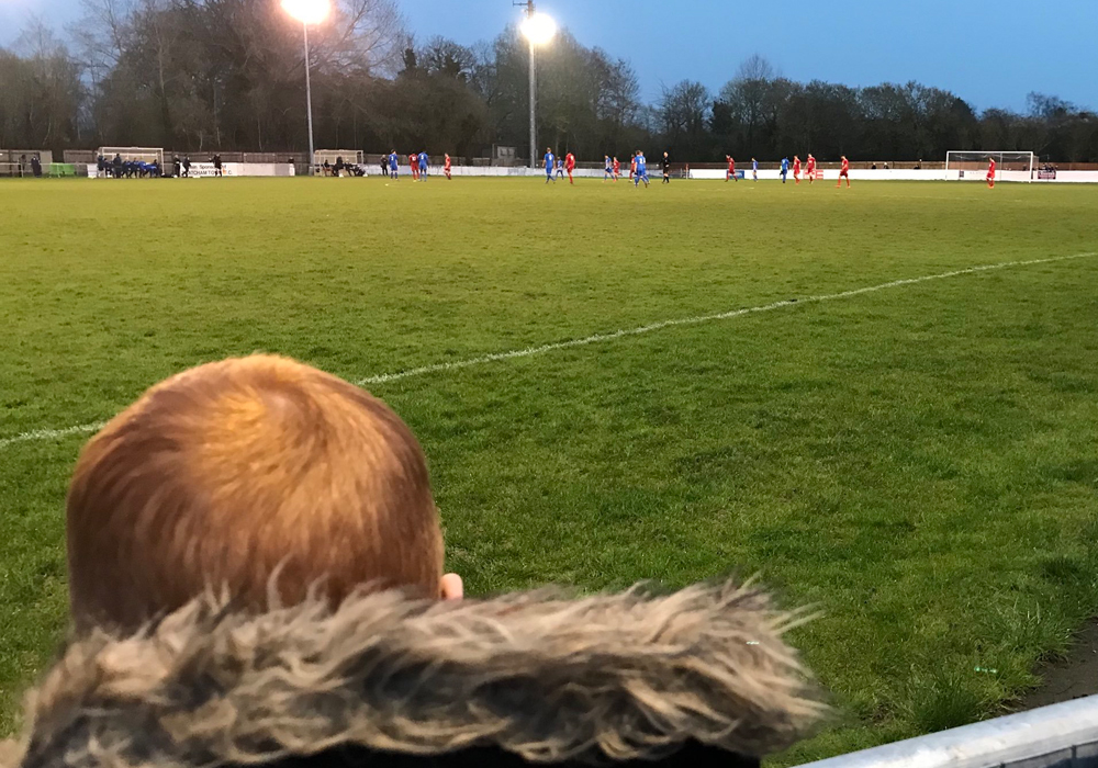 A perfect match day: Thatcham Town FC