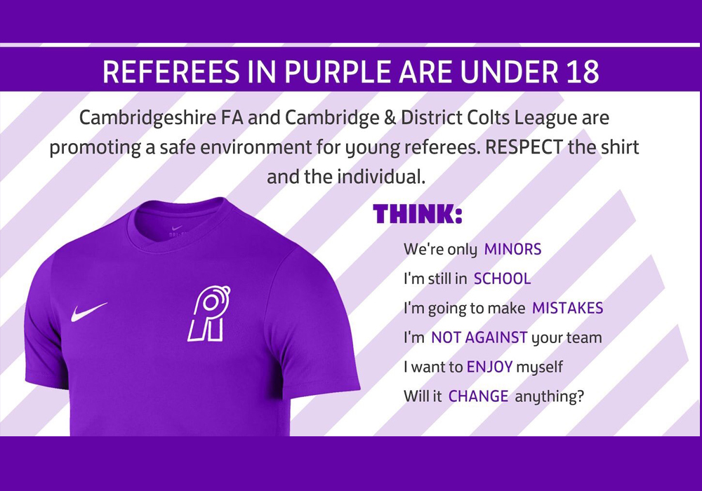Could purple referee's kits be coming to Berkshire?