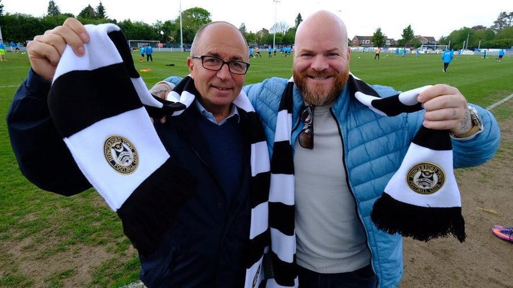 Hungerford Town's Carl Reader on going cashless and bringing fans to Bulpit Lane