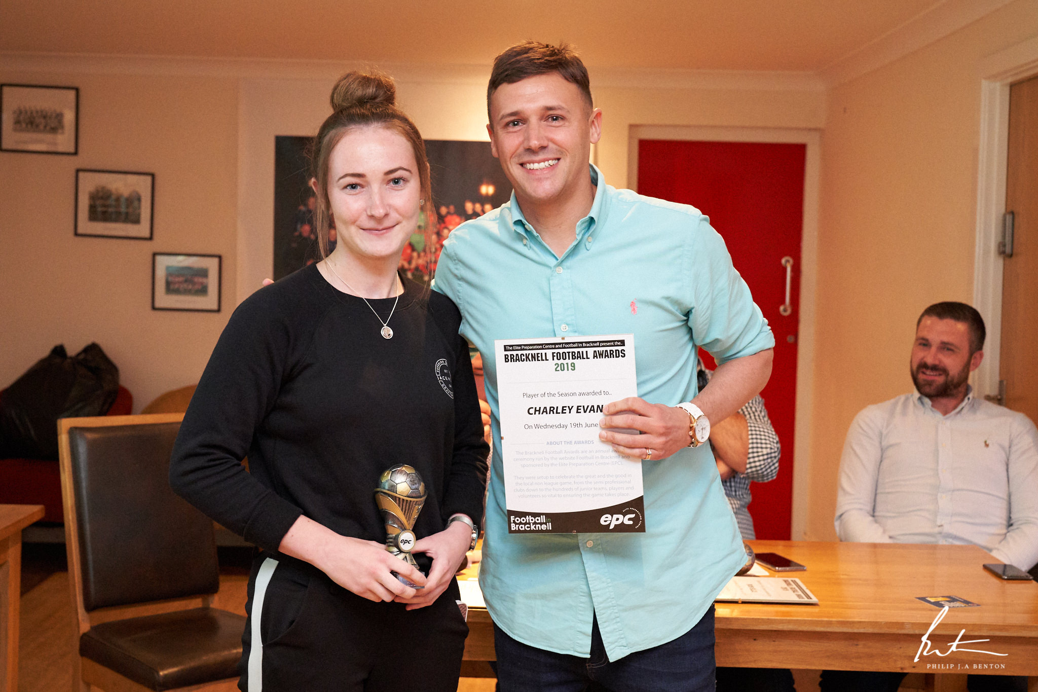 All the winners from the 2019 EPC Bracknell Football Awards