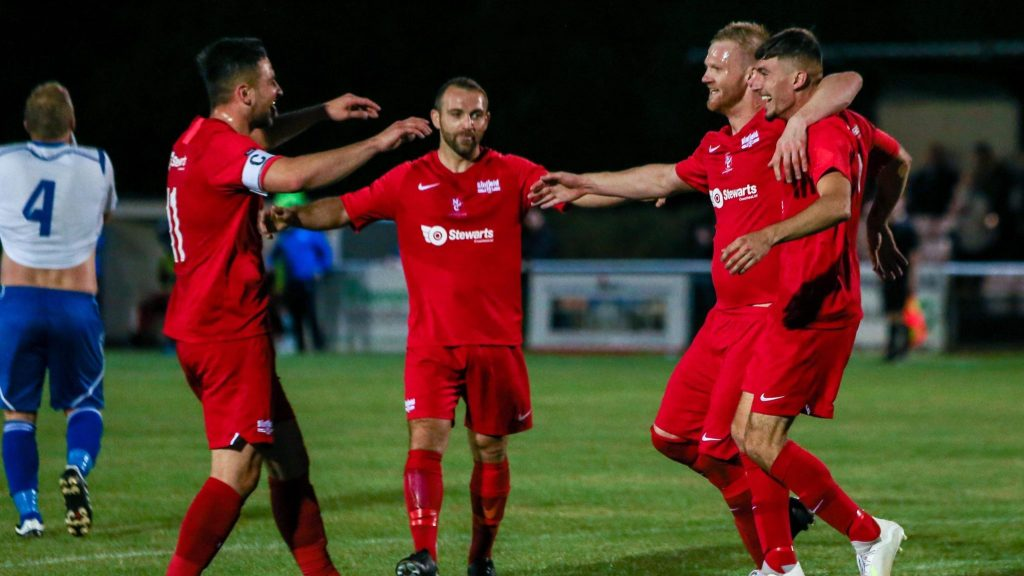 Three in a row for Binfield in Monday night football