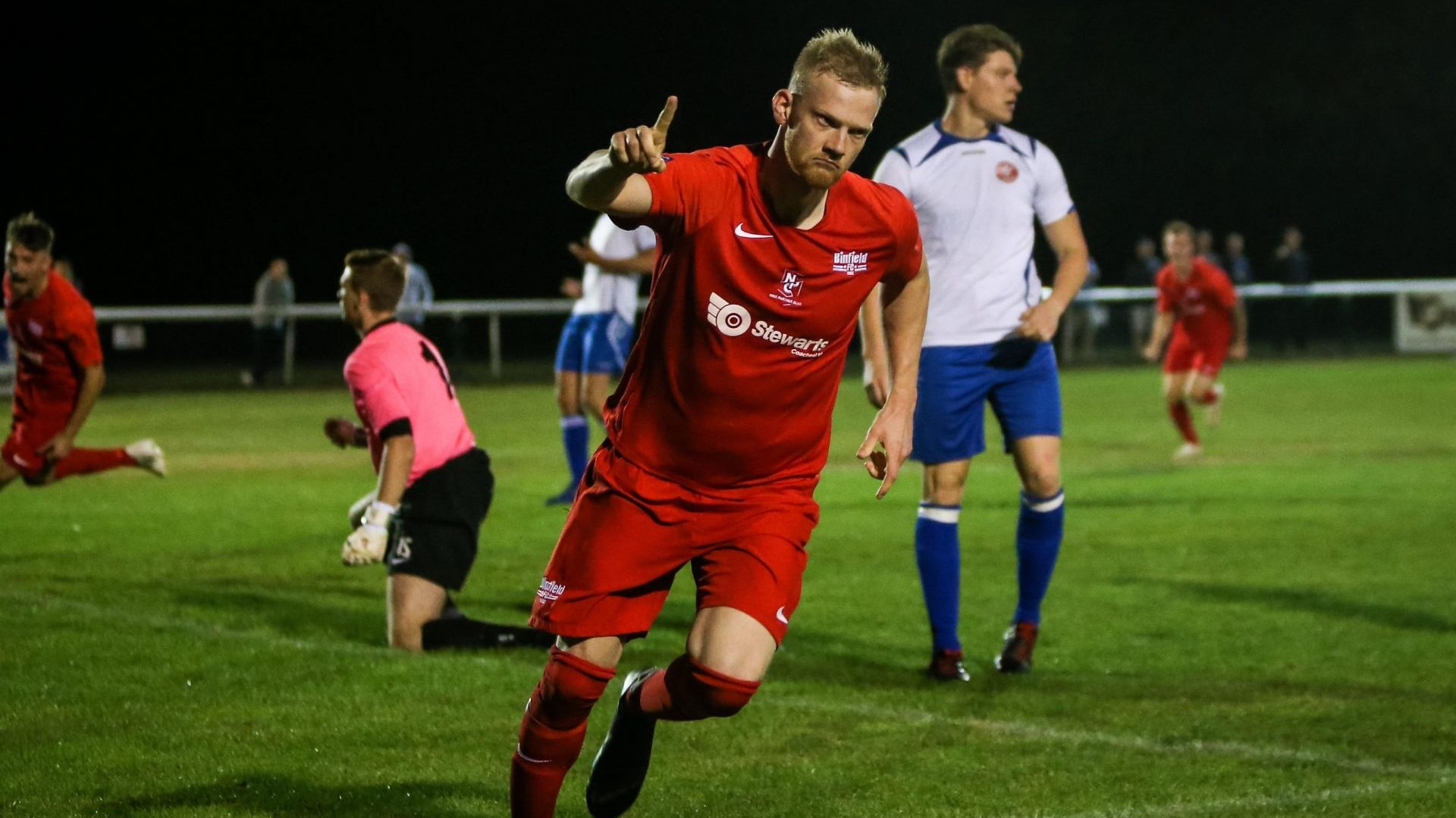 Binfield edge Virginia Water in tight FA Vase encounter