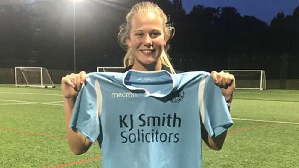 Freya Jenkins opens account as Woodley United start on South Coast
