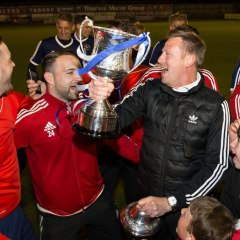 The Berks & Bucks County FA Senior Cup is alive and kicking