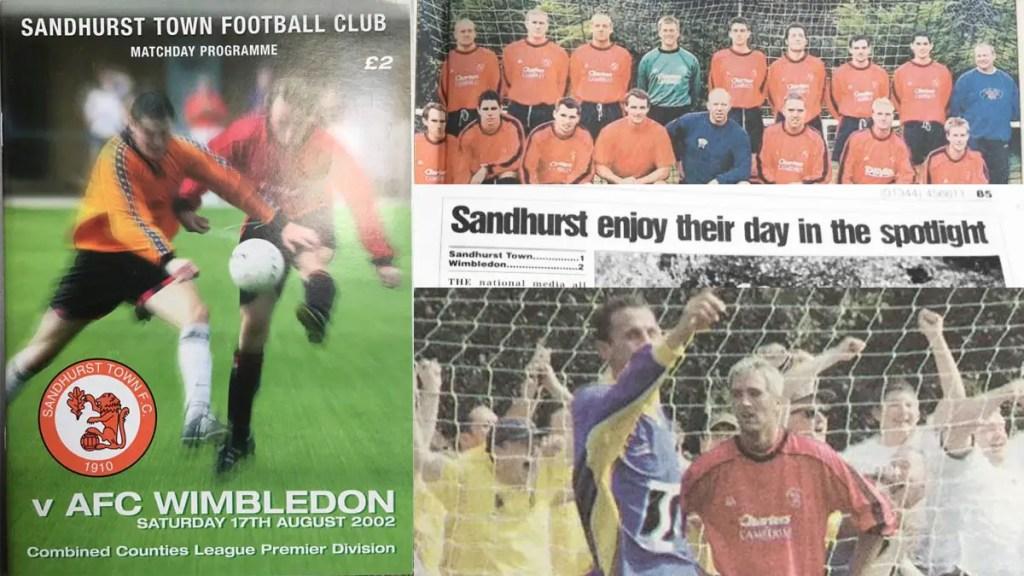 Sandhurst Town vs AFC Wimbledon: Media coverage