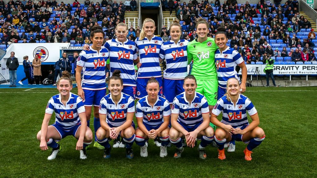 Reading FC Women are coming home