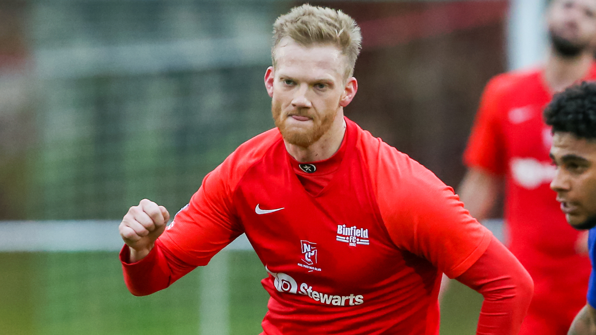 Josh Helmore rescues 10-man Binfield in FA Vase