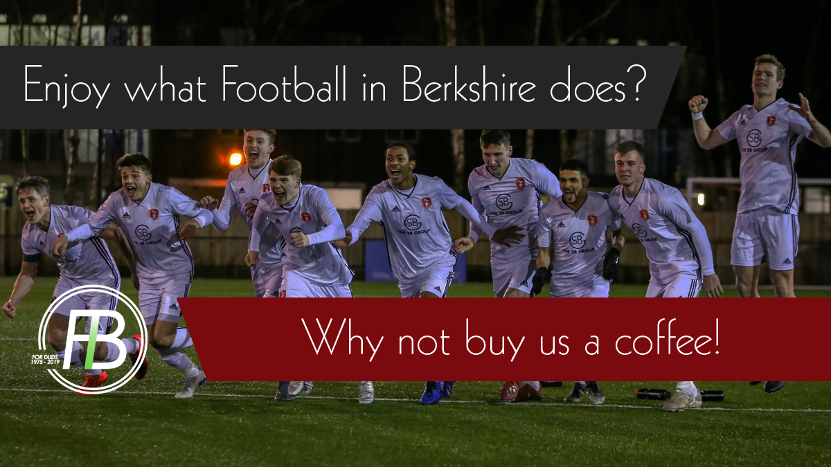Why Football in Berkshire is asking you to 'buy it a coffee'