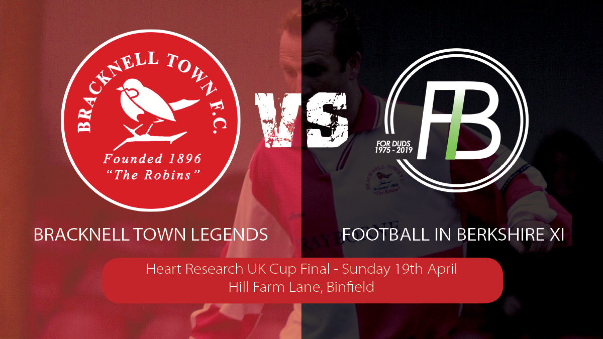 Bracknell Town Legends side to face FiB XI in charity clash