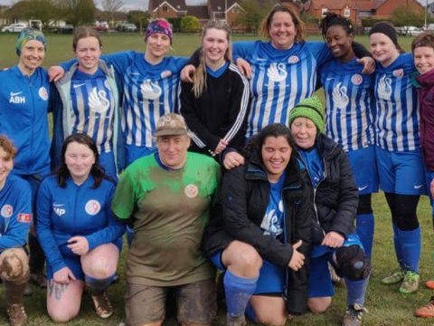 'It's amazing to be part of it, win lose or draw' – Thatcham Town Ladies