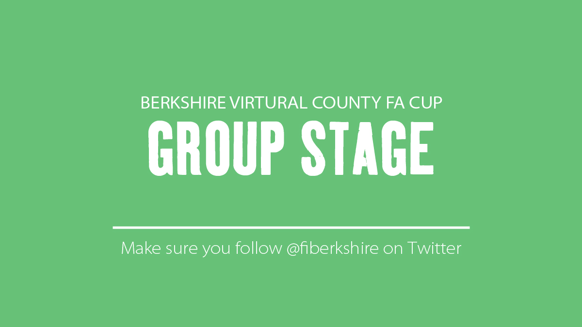 Berkshire Virtual County FA Cup Group Stage tables