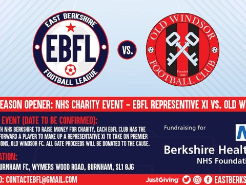 EBFL rep side in fundraising clash with unbeaten champs