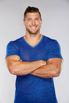 TELEVISION IN HIGH HEELS: TIM TEBOW'S NEW GIG
