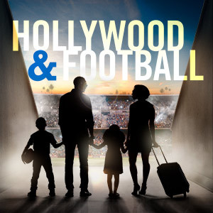 hollywood and football premiere