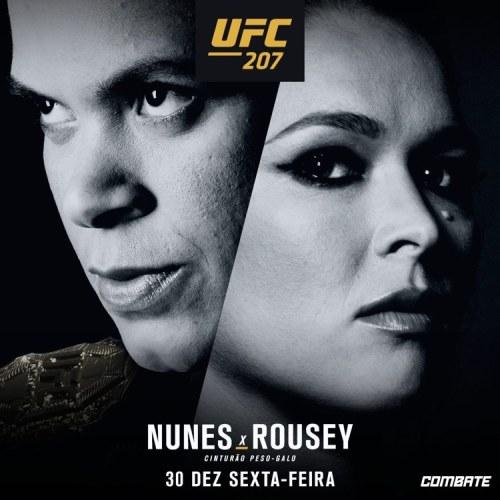 ronda rousey ufc 207
