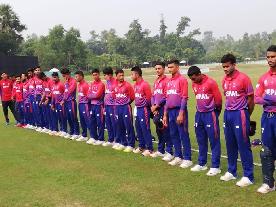 यु–१९ एसिया कप : अफगानिस्तानसँग पनि नेपाल पराजित, समूह चरणबाटै बाहिरियो