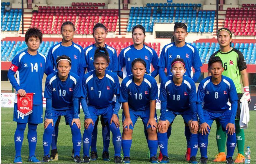 महिला फुटबल : फिफा वरीयतामा नेपाल दुई स्थान उक्लियो
