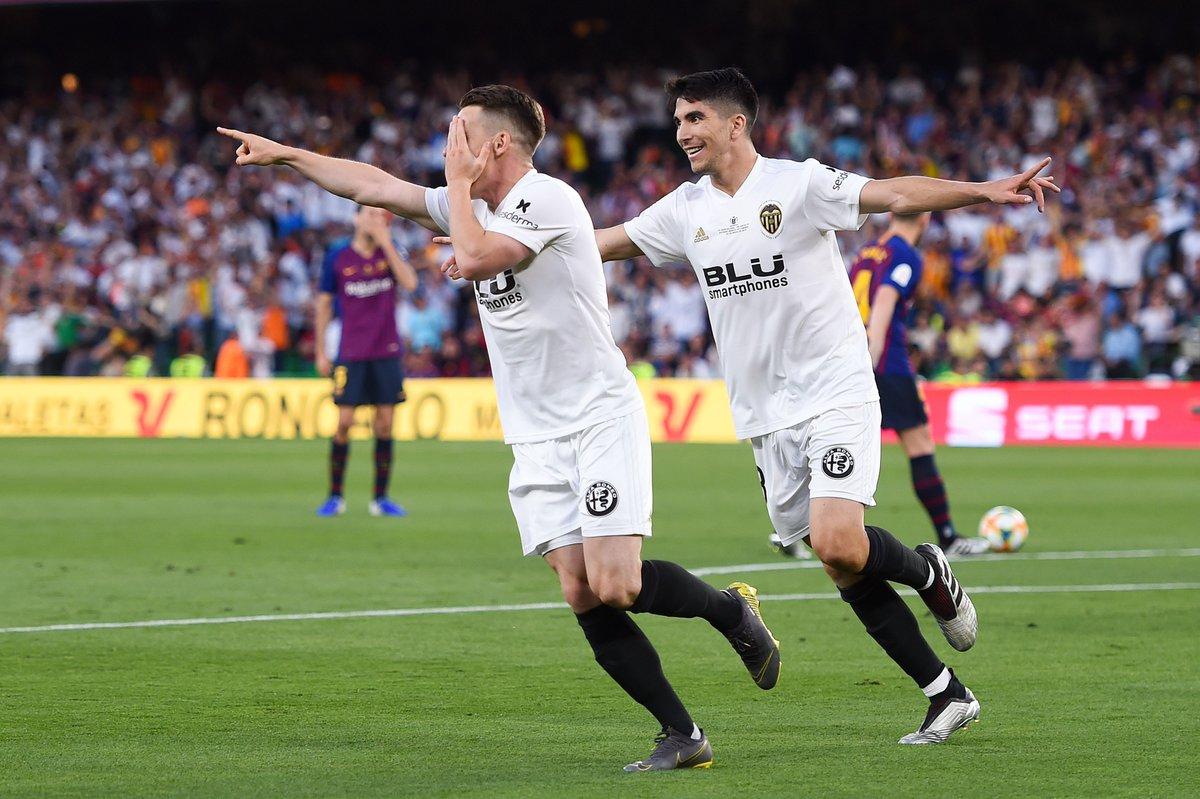 पहिलो हाफमा बार्सिलोनाविरुद्ध भ्यालेन्सिया २–० ले अघि !