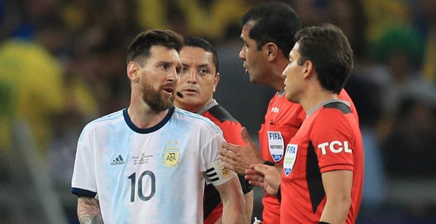 अर्जेन्टिना र ब्राजिलको खेल खेलाउने रेफ्रीको यस्तो बयान