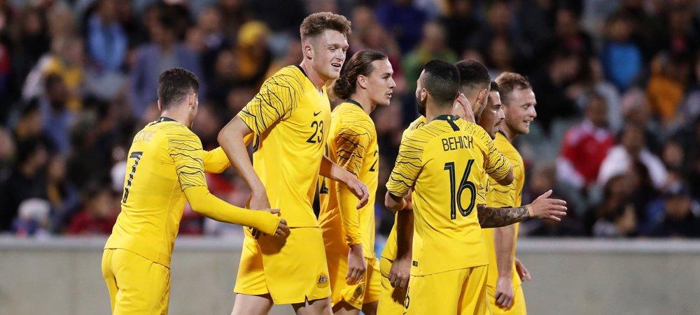 विश्वकप छनौट : पहिलो हाफमा नेपाल अस्ट्रेलियासँग ३–० ले पछि
