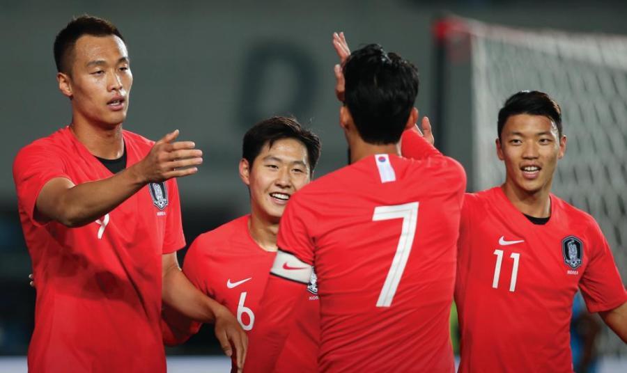 श्रीलंकाको पोस्टमा दक्षिण कोरियाले ठोक्यो ८ गोल : सिन उकको ४ गोल !