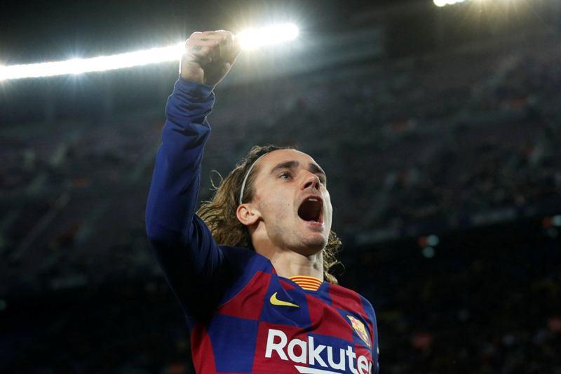 बार्सिलोना भर्सेस लेगानेस : पहिलो हाफमा बार्सिलोना २–० ले अघि