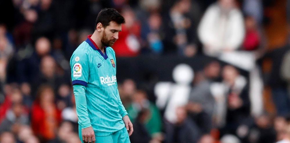 बार्सिलोनालाई अवे खेल जित्नै मुस्किल : भ्यालेन्सियाले चखायो लज्जास्पद हार !