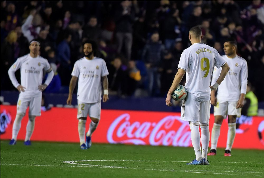 लेभान्टेले रियल मड्रिडलाई हरायो : बार्सिलोनालाई २ अंकको स्पष्ट अग्रता !