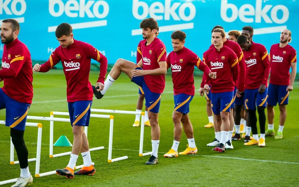 एथ्लेटिको मड्रिडसँगको खेलअघि बार्सिलोनाका प्रमुख खेलाडी प्रशिक्षणमा अनुपस्थित