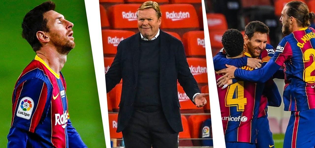 प्रशिक्षकले बार्सिलोना 'खराब स्थिति'बाट गुज्रिनुको कारण खुलाए