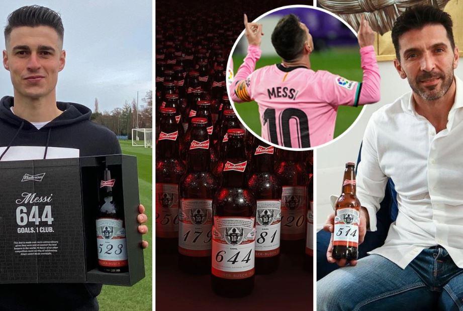 सेलिब्रेसनको शैली : मेस्सीको गोल खाने गोलकिपरहरूलाई ६४४ बोतल बियर उपहार !