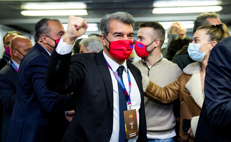'मेस्सीका खास प्रशंसक' लापोर्टा बने बार्सिलोनाको नयाँ अध्यक्ष