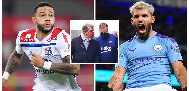 बार्सिलोनाको ९ नम्बरमा डिपे कि अगुएरो ? : यस्तो छ दुवै खेलाडीको सम्भावना र कारण