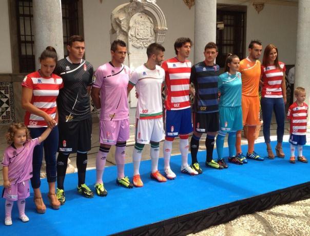 Equipacion Granada CF 2014