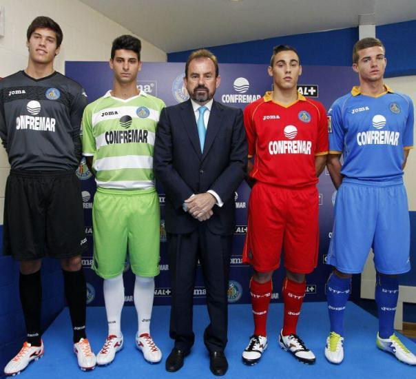 New Getafe Kit 13 14