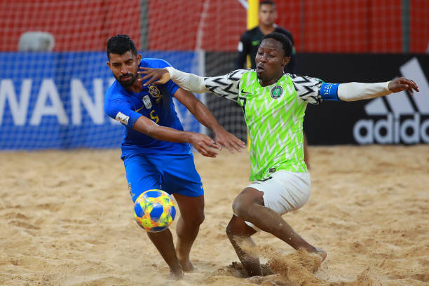 Fifa Beach Soccer World Cup: Brazil Finish Top Of Group D After Lopsided Win