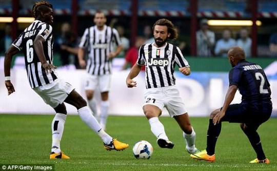 Weaving his magic from midfield, Pirlo has baffled the hierarchy at the San Siro with his revival.