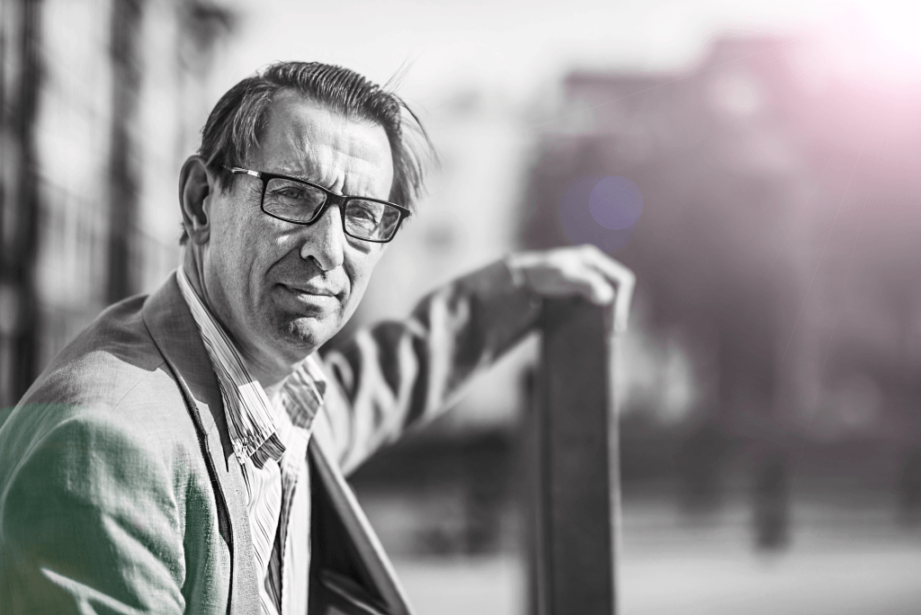 Professor Stefan Szymanski, author of Money and Soccer and co-author for Soccernomics© Dries Luyten for De Tijd.