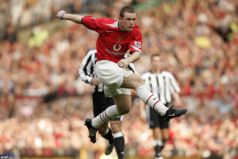 That volley against Newcastle, struck in the middle of a routine Wayne Rooney heated-argument with the referee.