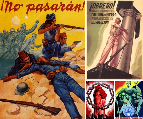 Image result for spanish civil war propaganda