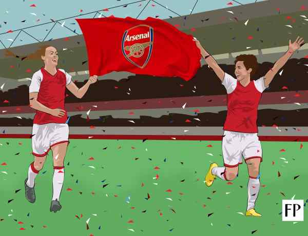 Arsenal Ladies - The Foot Soldiers of Women's Football